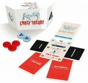 Crazy Theory-Materiel-Jeu de société-Ludovox