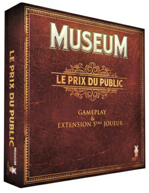 Museum - Extension Le Prix du Public-Couv-Jeu de société-Ludovox