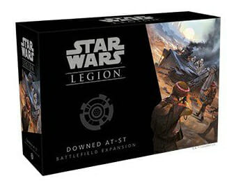 Star Wars Legion - Downed AT-ST Battlefield Expansion-Couv-Jeu de société-Ludovox