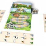 Zoo Run-Materiel-Jeu de société-Ludovox