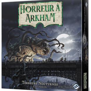 Horreur à Arkham (3e éd) : extension Terreurs Nocturnes annoncée