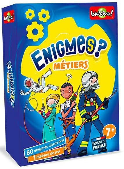 Enigmes - Métiers -Couv-Jeu de société-Ludovox