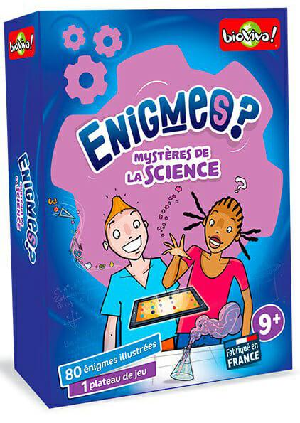 Enigmes - Mystères de la Science-Couv-Jeu de société-Ludovox