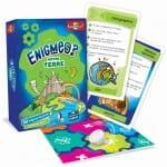 Enigmes - Notre Terre -Materiel-Jeu de société-Ludovox