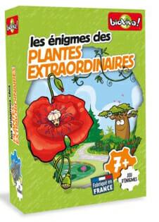 Enigmes - Plantes Extraordinaires -Couv-Jeu de société-Ludovox