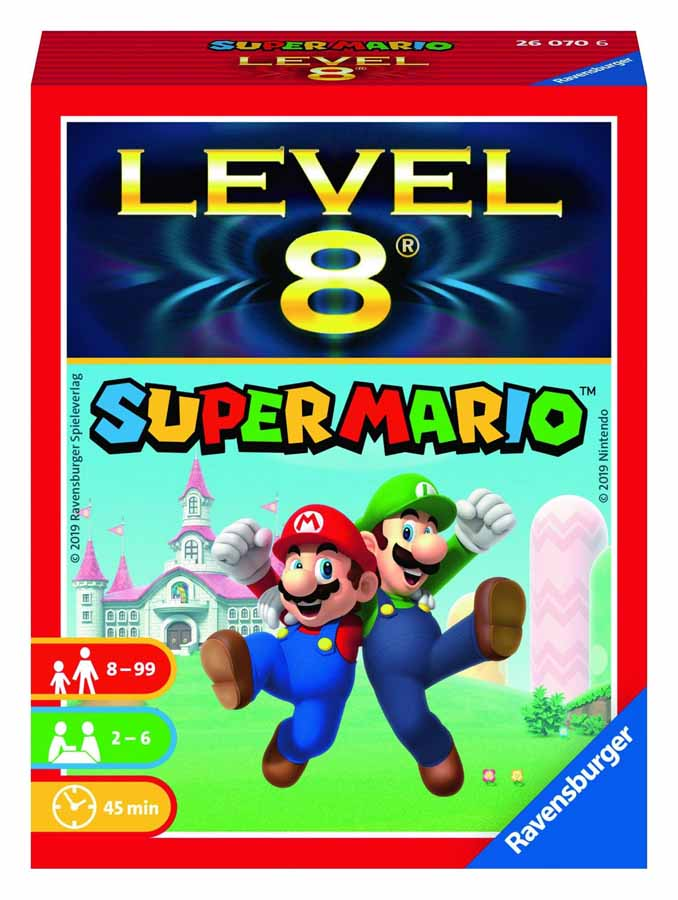Level 8 super mario-Couv-Jeu de société-Ludovox