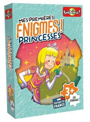 Mes Premières Enigmes - Princesses-Couv-Jeu de société-Ludovox