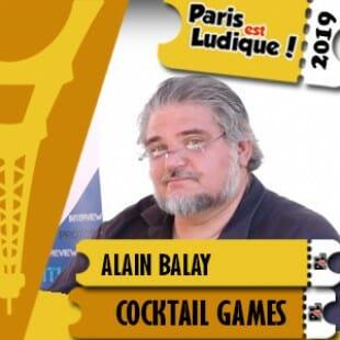 Paris Est Ludique 2019 –  Alain Balay – Blue Cocker