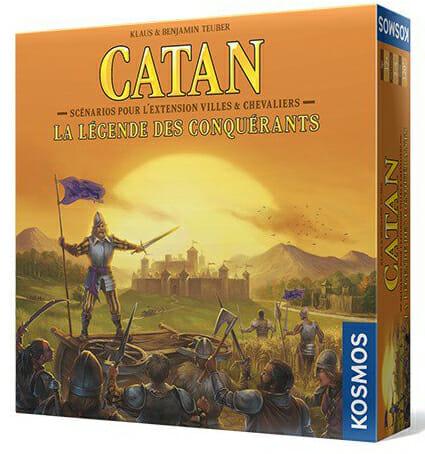 Catan - La Légende des Conquérants-Couv-Jeu de société-Ludovox