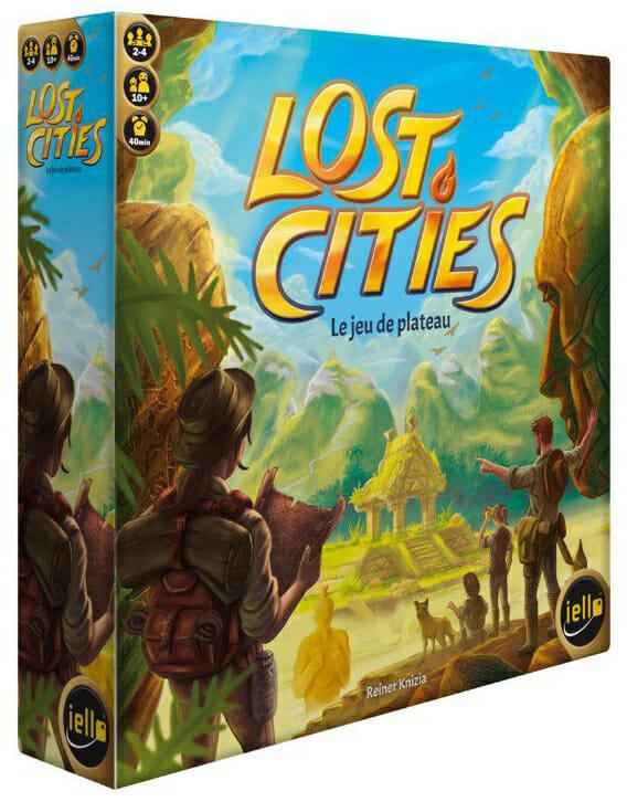 Lost Cities Le Jeu De Plateau-Couv-Jeu de société-Ludovox