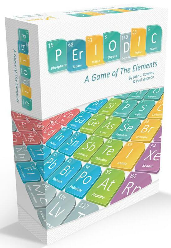 Periodic A Game of The Elements-Couv-Jeu de société-Ludovox