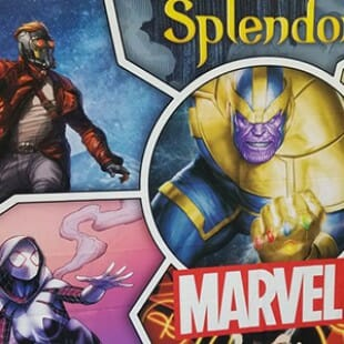 Splendor Marvel : Renaissance 0 – Thanos 1