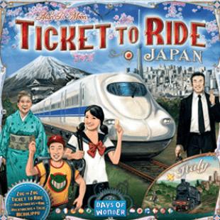 Les Aventuriers du Rail : Japon et Italie pour Essen