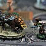 Aeon Trespass Odyssey figurines jeu