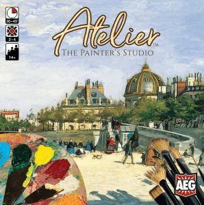 Atelier The Painter Studio-Couv-Jeu de société-Ludovox