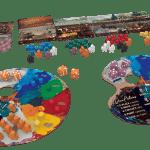 Atelier The Painter Studio-Materiel-Jeu de société-Ludovox