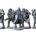 D.E.I. (Divide E Impera) figurines