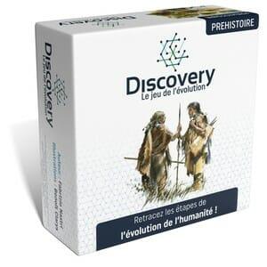 Discovery le jeu de l'évolution préhistoire