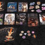 Nine-Materiel-Jeu de société-Ludovox
