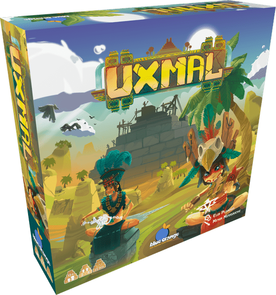 uxmal jeu blue orange