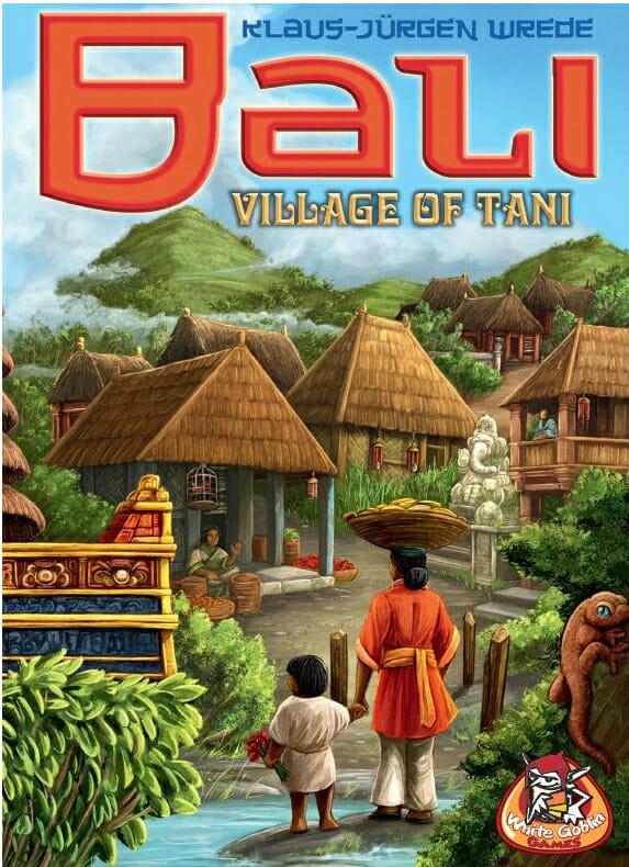 Bali Village of tani-Couv-Jeu de société-Ludovox