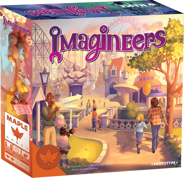 Imagineers jeu de societe ludovox 2019