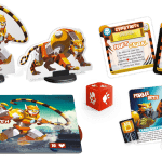 King of Tokyo Cybertooth Monster Pack-Materiel-Jeu de société-Ludovox