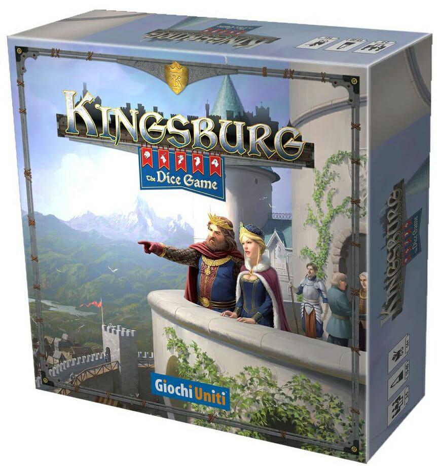 Kingsburg The Dice Game-Couv-Jeu de société-Ludovox