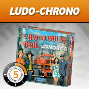 LUDOCHRONO – Les Aventuriers du Rail : Londres
