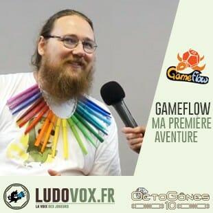 Octogones 2019 – Roméo Hénnion de Gameflow : collection «Ma première Aventure»