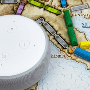 Days of Wonder et Amazon offrent des Skills Alexa pour les Aventuriers du Rail