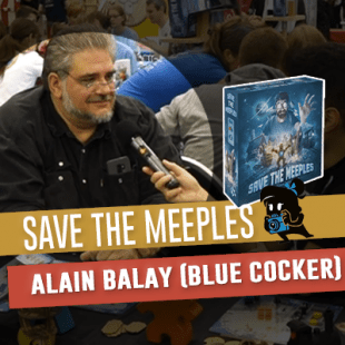 Essen 2019 – Blue Cocker : Save The Meeples