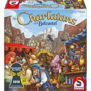 Les Charlatans de Belcastel-Couv-Jeu de société-Ludovox