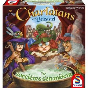 Les Charlatans de Belcastel - Les Sorcières s'en mêlent-Couv-Jeu de société-Ludovox