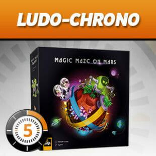 LUDOCHRONO – Magic Maze on Mars