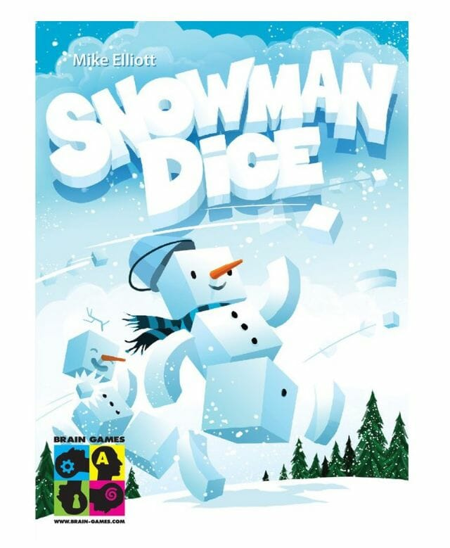 Snow man Dice02