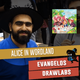 Essen 2019 – Drawlab Entertainment : Alice in Wordland