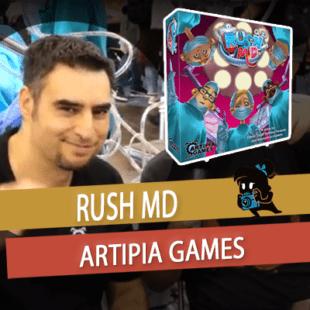 Essen 2019 – Rush M.D. – Artipia Games – VOSTFR