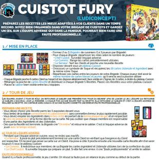 Règle express : fiche résumé Cuistot Fury