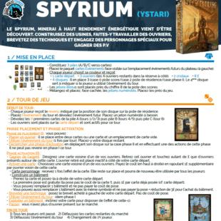 Règle express : fiche résumé Spyrium