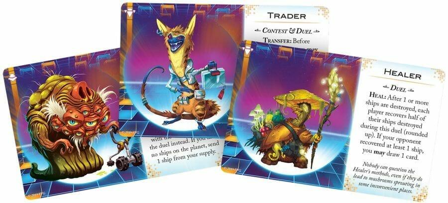 Cosmic Encounter Duel cartes