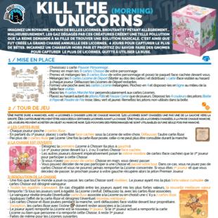 Règle express : fiche résumé Kill The Unicorns