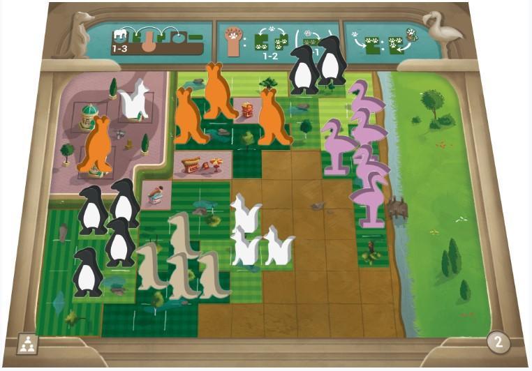 LudoVox - Uwe Rosenberg : New York Zoo