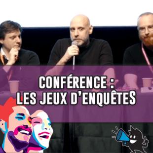 FIJ 2020 – Conférence : Les jeux d'enquête – le renouveau ludique