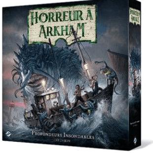 Une nouvelle extension pour Horreur à Arkham 3e Édition : Profondeurs Insondables