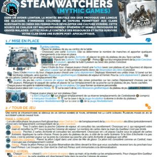 Règle express : fiche résumé Steamwatchers