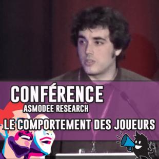 Conférence Asmodee Research | JOUER LE JEU OU COMMENT SE COMPORTER À UNE TABLE DE JOUEURS PASSIONNÉS