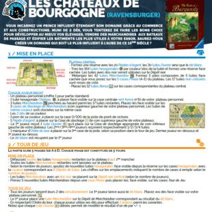 Règle Express : fiche résumé Les Châteaux de Bourgogne