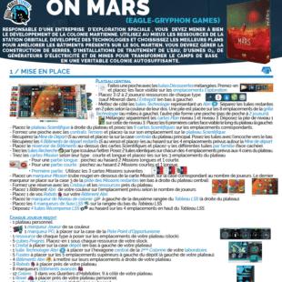 Règle express : fiche résumé On Mars