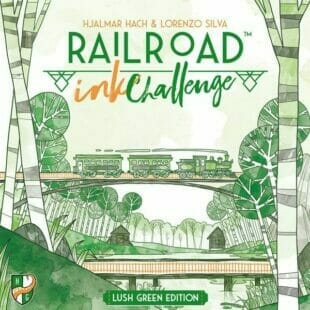 Railroad Ink Challenge Lush green Edition